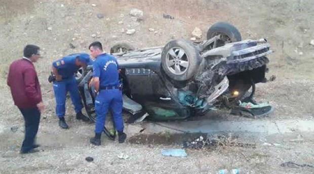 AKP'li Belediye Başkanı trafik kazası geçirdi