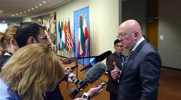 Rusya'dan BMGK'ye Suriye için acil toplanma çağrısı