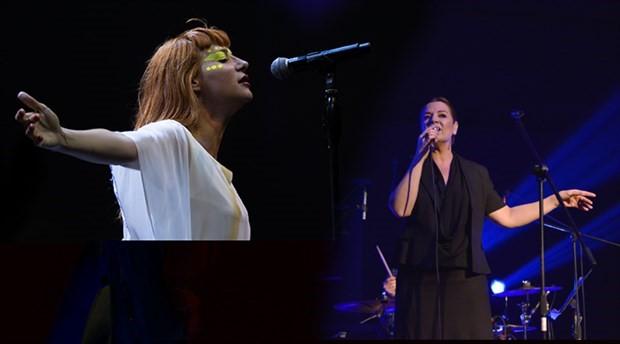 Birsen Tezer ve Aylin Aslım, 'Burada Müzik Var' sahnesinde buluşacak