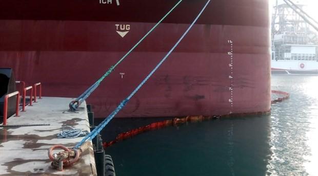 Antalya'da iki kuru yük gemisine 'çevre kirliliği' cezası