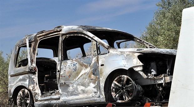 'Kaçırıldı' ihbarı yapılan galerici ve eşi, otomobilde yanmış bulundu