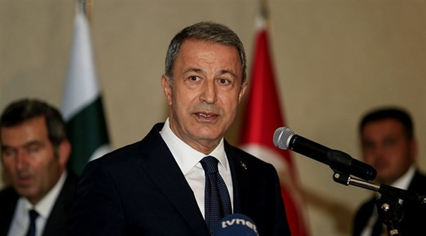 Milli Savunma Bakanı Hulusi Akar, Fransız mevkidaşıyla görüştü