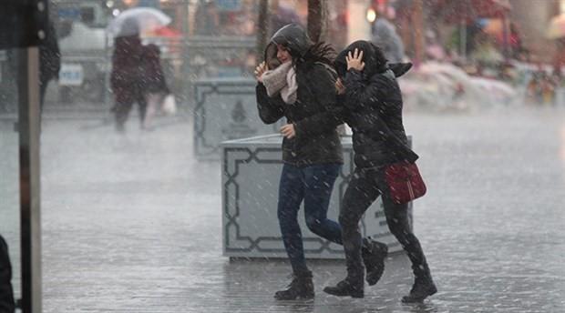 İstanbul'a kuvvetli sağanak uyarısı