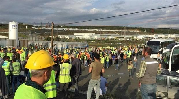 TMMOB: İnsanca çalışma koşulları için direnen 3. Havalimanı işçilerinin yanındayız
