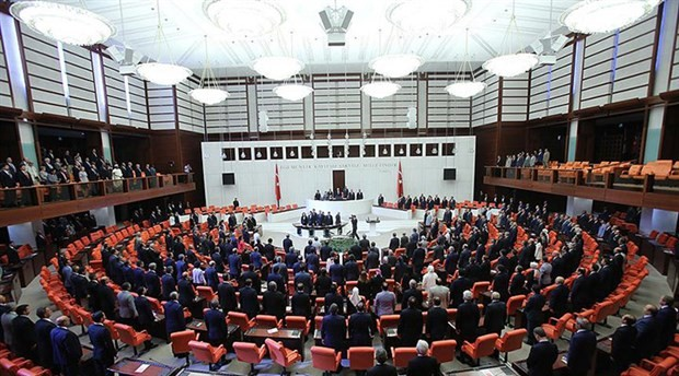 Irak-Suriye tezkeresi Meclis'e sunuldu