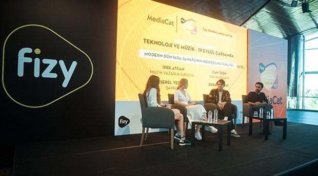 fizy İstanbul Müzik Haftası kapsamında 'teknoloji ve müzik' konuşuldu