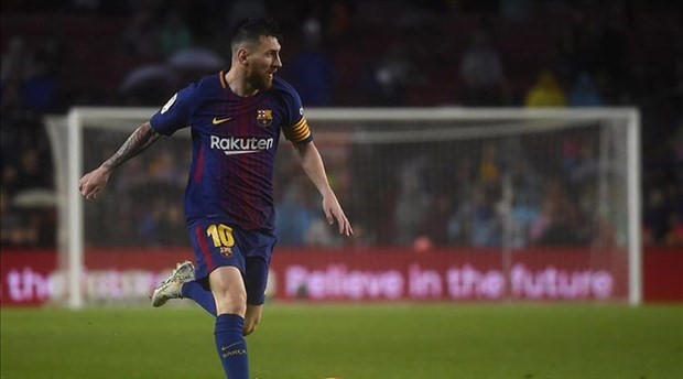 Şampiyonlar Ligi'nde haftanın futbolcusu Messi