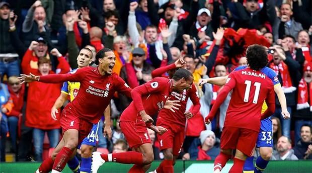 Liverpool6'da 6 yaptı