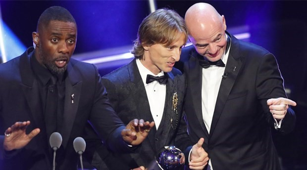 Luka Modric yılın futbolcusu seçildi