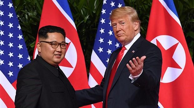 Trump: Kuzey Kore lideriyle ikinci zirve yakında yapılacak