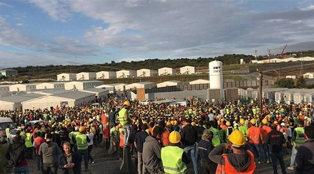 3. havalimanında 6 işçi daha tutuklandı