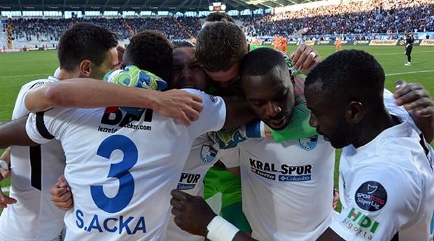 Erzurumspor, Alanyaspor'u 1-0'la geçti