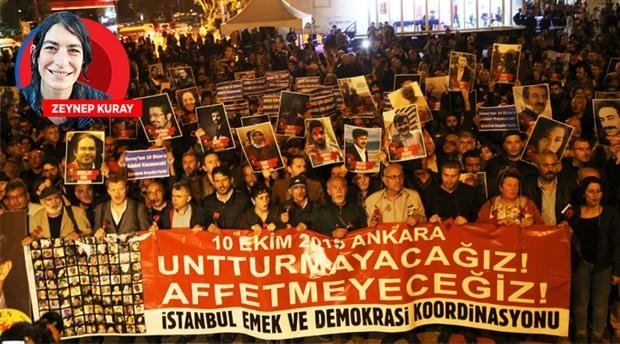 10 Ekim katliamında yaşamını yitirenler Kadıköy'de anıldı: Unutmayacağız, affetmeyeceğiz