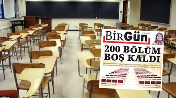 CHP'li Antmen: Yirmi üniversitede neden öğrenci yok?