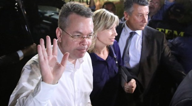 Brunson davasında karar: Serbest kaldı