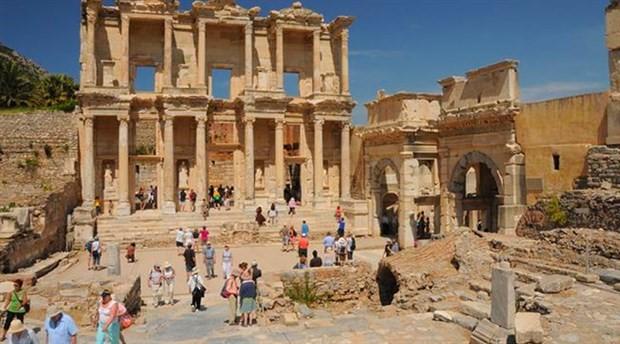 İklim değişikliği Efes Antik Kenti'ni de tehdit ediyor