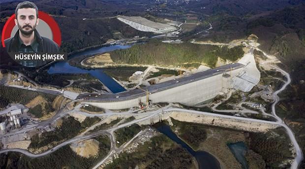 1 buçuk milyara bir baraj yapamadılar