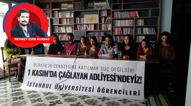 Berkay ve tutuklu öğrenciler serbest bırakılsın
