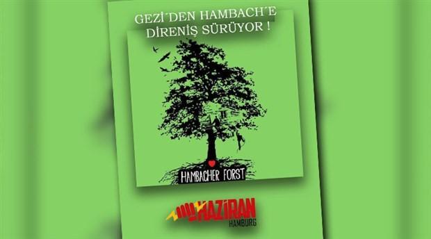 Hambach Ormanı için binlerce kişilik protesto