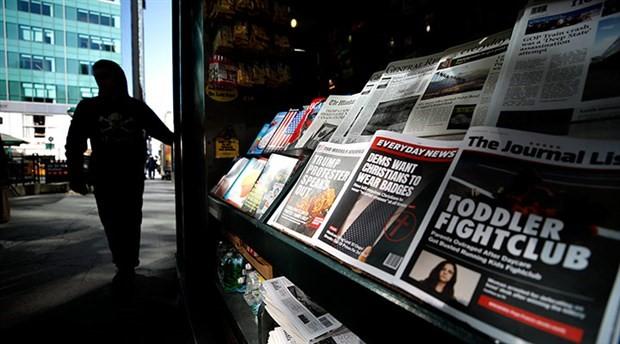 New York'ta 'yalan haber' standı açıldı