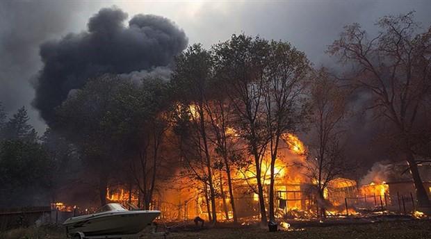 Kaliforniya'daki yangın Paradise kasabasını etkiledi