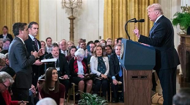 Trump sinyali verdi: Daha fazla gazeteci Beyaz Saray'a giremeyebilir