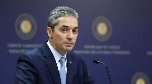 Dışişleri Sözcüsü Aksoy'dan, Kıbrıs açıklarında arama yapan şirketlere ilişkin açıklama