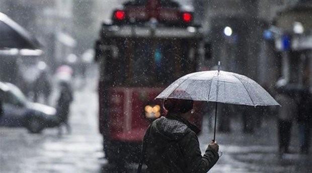 AKOM'dan İstanbul'a yağmur ve fırtına uyarısı
