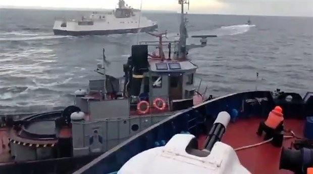 Almanya'dan Rusya'ya Ukrayna'nın gemi ve askerlerini serbest bırakma çağrısı