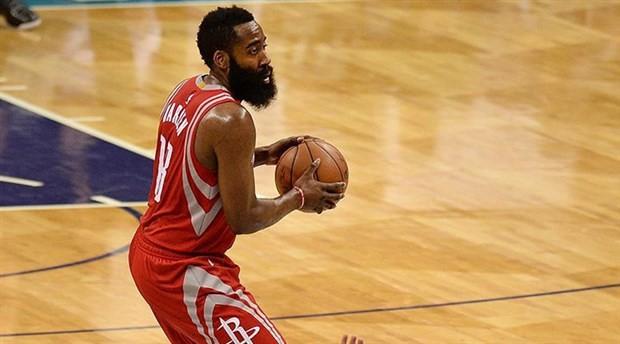 Harden'ın 54 sayısı Rockets'a yetmedi