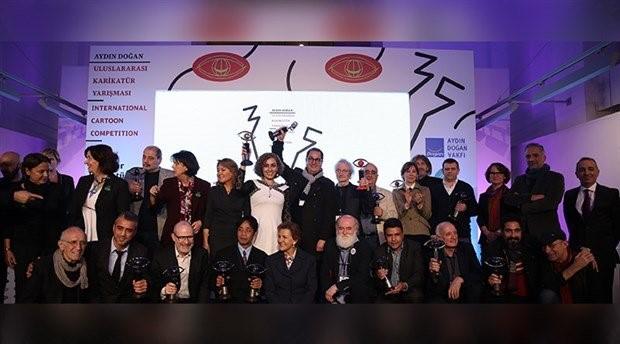 Aydın Doğan Uluslararası Karikatür Yarışması Ödülleri sahiplerini buldu