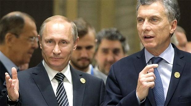 Rusya Devlet Başkanı Putin Arjantin'de