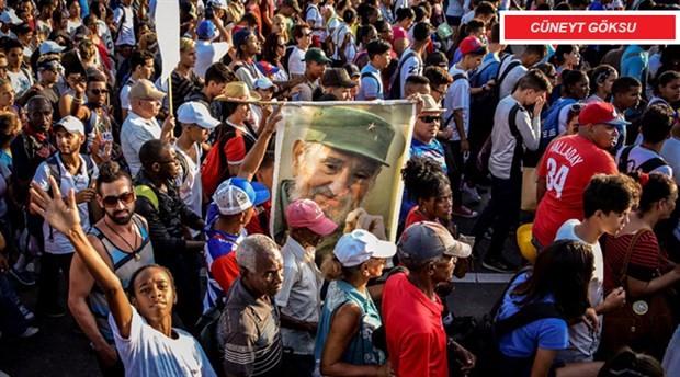 Sosyalist Küba için komünizmi çıkardık!