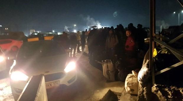 Havalimanı işçileri gece yarısı şantiyeden atıldı