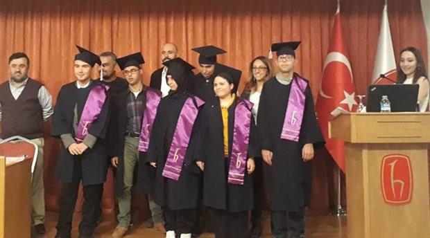 'Özel çocuklar'ın diploma coşkusu