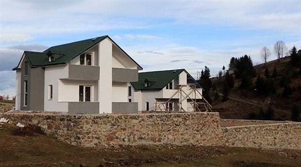 Trabzon'da Arapların yaptırdığı villaya 'haç' tepkisi