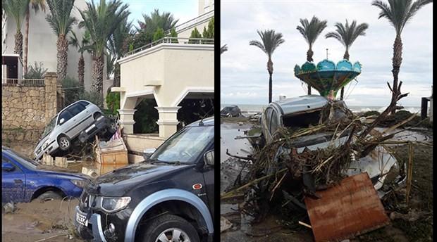 Kuzey Kıbrıs'ta sel felaketi: 4 ölü