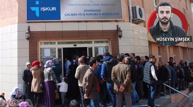 İŞKUR alıyor, AKP çalıştırıyor