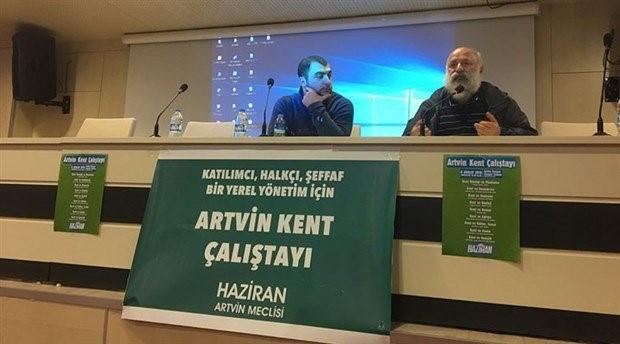 Haziran'ın düzenlediği Artvin Kent Çalıştay'ı başladı