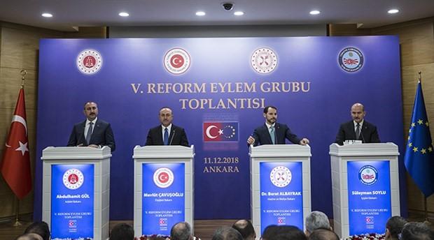 5. Reform Eylem Grubu toplantısı yapıldı