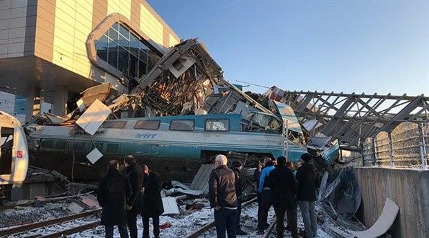 Ankara'da yüksek hızlı tren kazası: 9 ölü, 86 yaralı