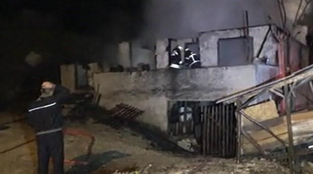Düzce'de yangın faciası