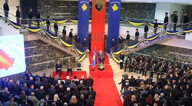 Kosova ordusu için devlet töreni düzenlendi