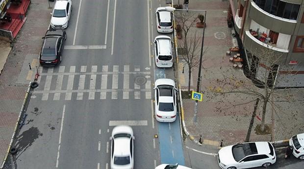 İstanbul'da bisiklet yolları işgal altında