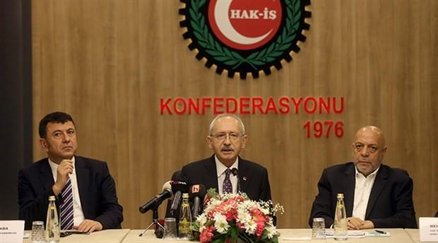 Kılıçdaroğlu: 2 bin 200 TL'nin altında asgari ücreti kabul etmiyoruz