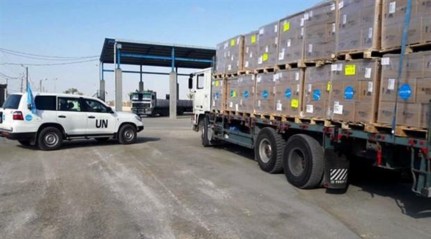 BM, Filistin'e gıda yardımında kesintiye gidiyor