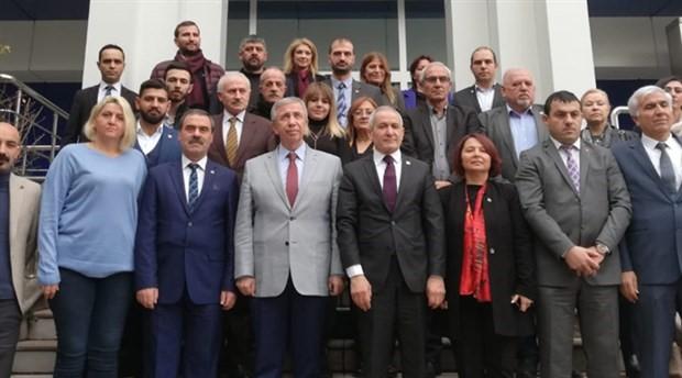 Mansur Yavaş'tan CHP il başkanlığına ziyaret