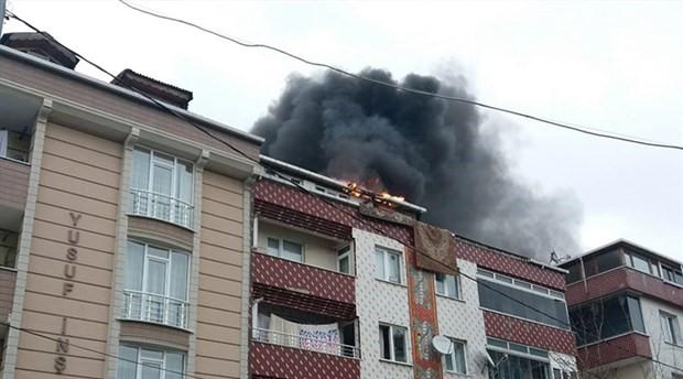 Sultangazi'de yangın paniği