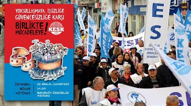 Emeğin hakları için binler sokağa çıkıyor