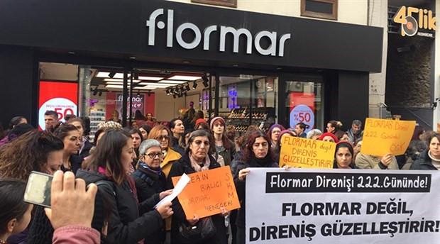 Flormar direnişi 222. gününde: Flormar değil, direniş güzelleştirir